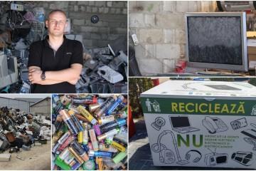 E-deșeurile, o bombă ecologică. Cum scăpăm de aparatele electronice vechi